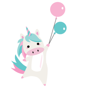 fliegendes Einhorn Luftballon pink Ballon rosa süß