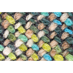 Wollmix, farbig - Makro Aufnahme