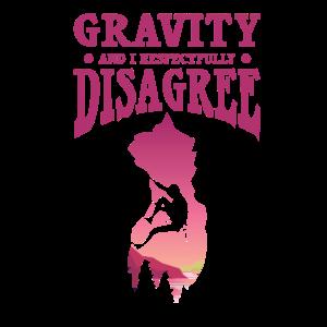 Bergsteiger Gravitation