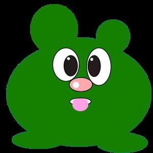 Grünes Monster von ArtShirt Kidz