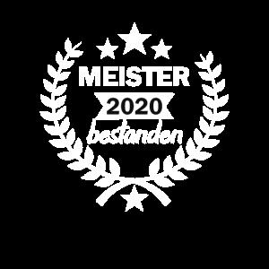 Meister 2020 Bestanden Meisterprüfung Meisterbrief