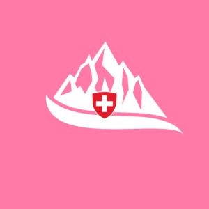 Schweizer Maske - Mundschutz mit Schweizer Bergen