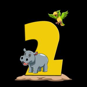 Safari Kindergeburtstag - 2 Geburtstag