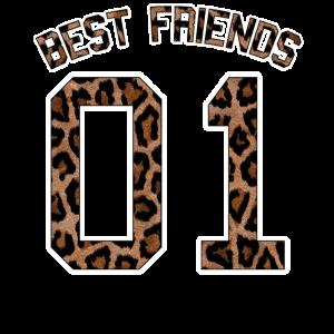 Best Friends 01 Gruppen Outfit Beste Freunde