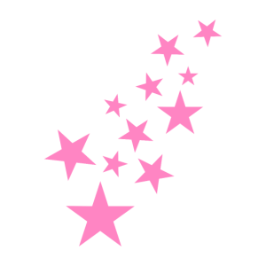 Stern Sternchen Muster Symbol Rosa