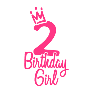 Zweiter Geburtstag Birthday Girl