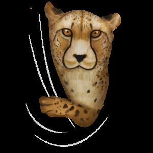 Gepard Geparden Gepardenliebhaber Geschenk