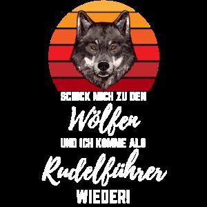 Einsamer Wolf Wölfe Raubtier Rudel Geschenk