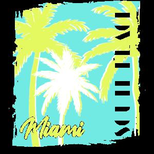 Miami South Beach 60 s style