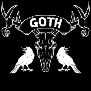 Goth Maske - Gothik Gesichtsmaske