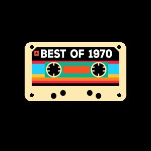 Best of 1970 Vintage 50 Geburtstag