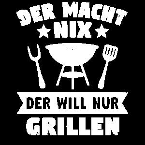 grillen Grill Spruch Geschenk Grillmeister Griller