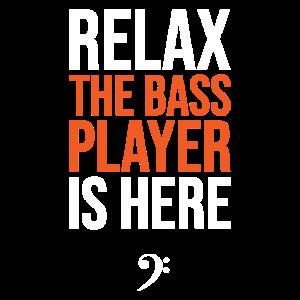 Entspannen Sie sich Der Bassist Ist da, Bassgitarre