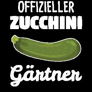 Zucchini Gewächshaus Gärtnerin Garten Geschenk