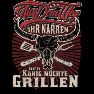 Grill und BBQ Shirt