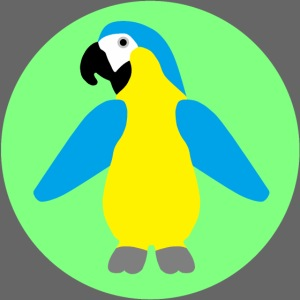 Yellow-breasted Macaw