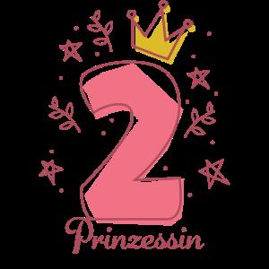 2. Geburtstag Geschenk Prinzessin