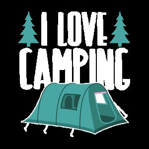 Ich Liebe Campen Camping