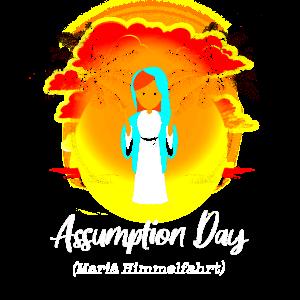 Assumption Day Mariae Himmelfahrt sunset