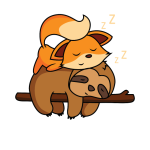 Süßes Fuchs Geschenk
