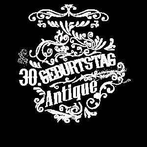 30 Geburtstag Geschenkidee Vintage