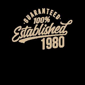 1980 Geburtstag Geschenkideen