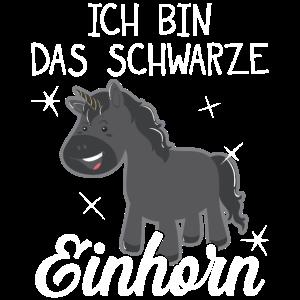 SCHWARZE EINHORN GOTH