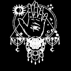 Blackcraft Tarot Occult Vintage Moon Sun Allsehend