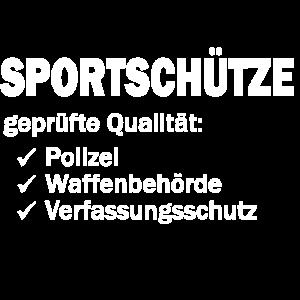 Sportschuetze gepruefte Qualitaet