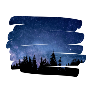 Natur Pinselstrich Nacht / Geschenk