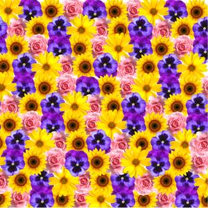 Flower Power! Mundschutz, Gesichtsmaske, Virus