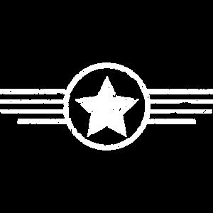 Armee Abzeichen Stern Geschenk Soldaten Militär