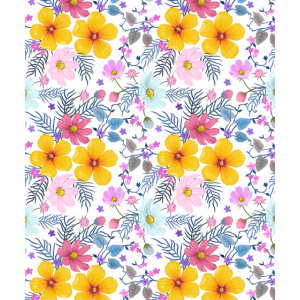 Beautiful Pattern Floral Colorful Flowers