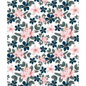 Beautiful Pattern Floral Pink Flowers