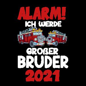 Großer Bruder 2021 Alarm Feuerwehrauto Feuerwehr