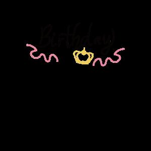 Happy Birthday Girl krown Geburtstag Mädchen Krone