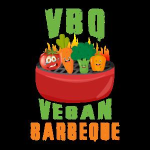 Funny BBQ Vegan Barbeque | Geschenk |
