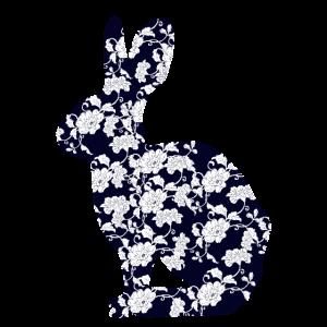 Blumiges Kaninchen