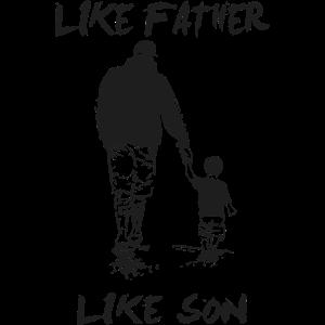 like father like son | Set für Vater und Sohn.