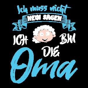 Oma muss nicht Nein sagen