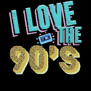 I Love The 90`s I Ich liebe die 90er