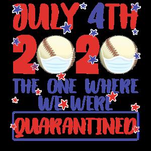 4. Juli 2020 Der Ort, an dem wir unter Quarantäne gestellt wurden