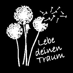 Pusteblume Frauen Sommer Geschenk Löwenzahn
