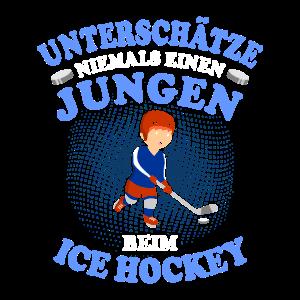 Eishockey Jungen