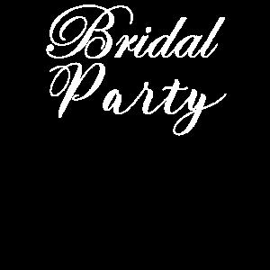 Hochzeit Word Art Brideal Party