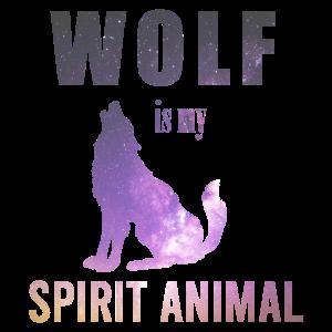 Spiritual Animals Wolf is my spirit Animal Gift
