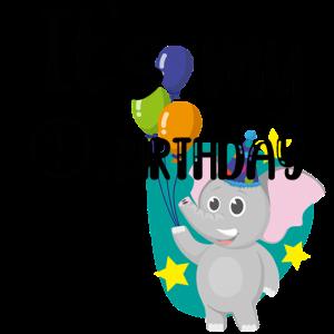 Der erste Geburtstag! - Elefant - Ein Jahr
