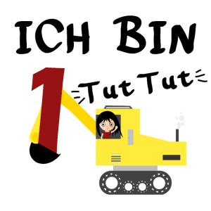 Erster Kindergeburtstag - Baumaschinen Shirt