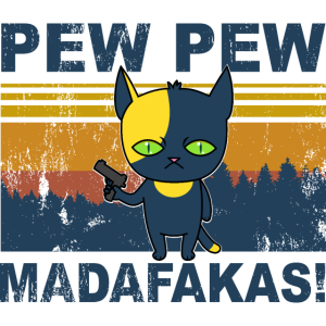 Katze Pew Pew