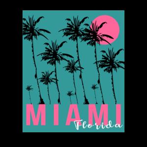 Miami Beach Florida Palmen Strand Sonne Sommer
